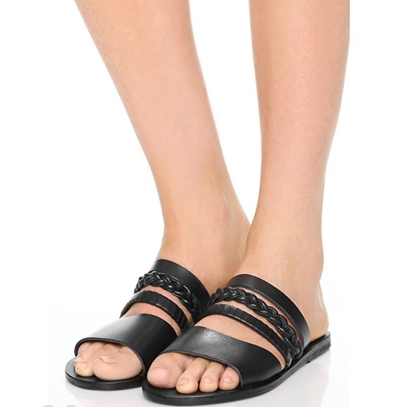 Ancient Greek Sandals Helene Slide Sandals low cost for sale shop for cheap online sale 2015 sale 100% authentic genuine cLJZJLGUt3